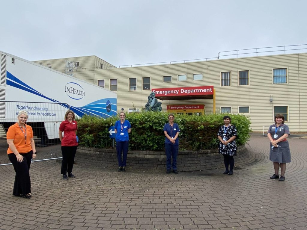 Team behind MKUH Hospital Navigator Scheme