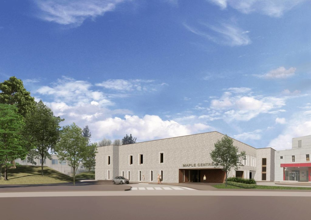 The proposed new Maple Centre at MKUH